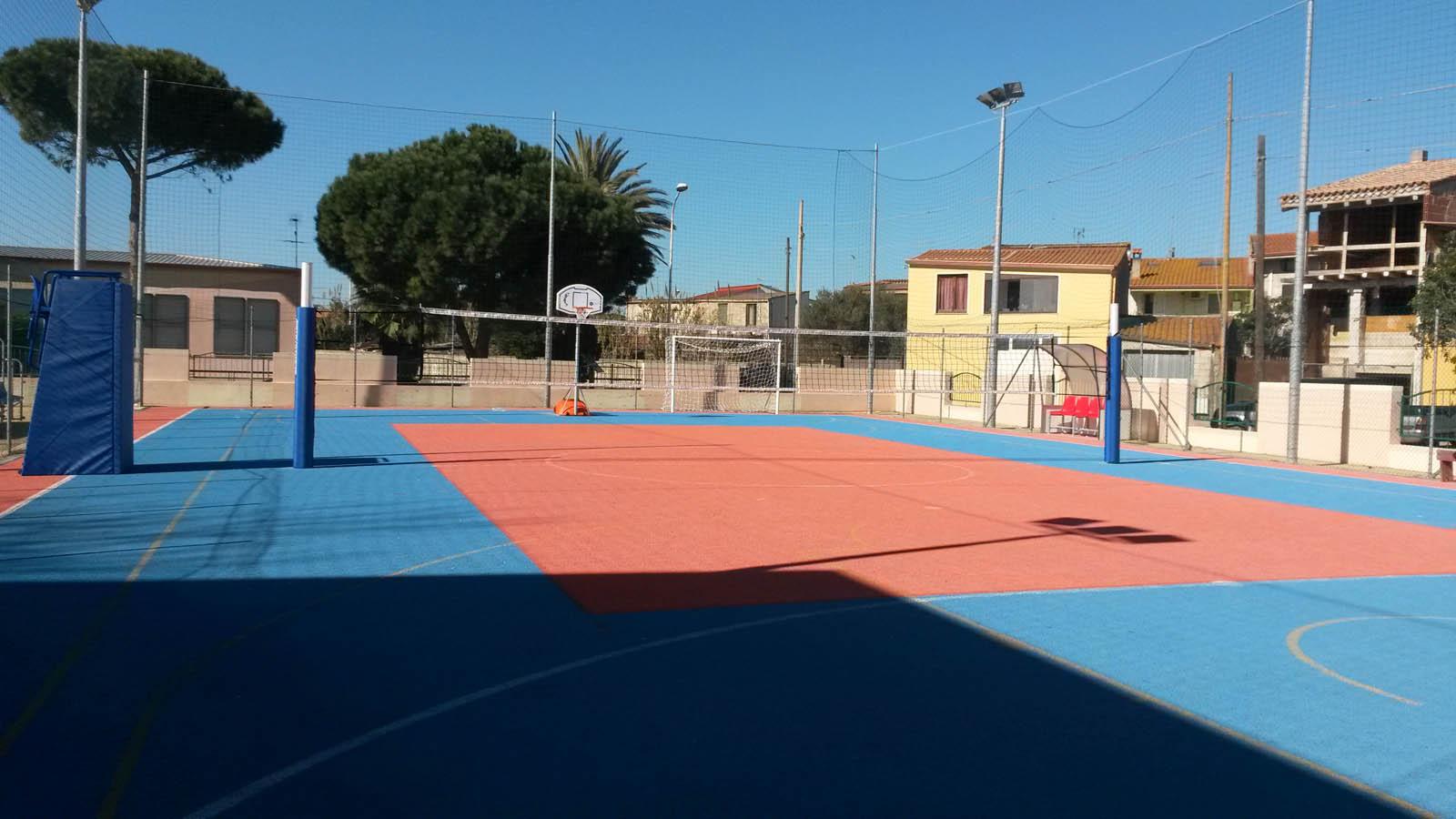 Impianti da gioco e sport all'aperto